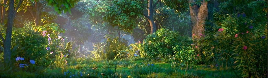 Maya动态植被库